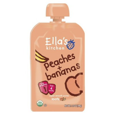 Ella's Kitchen Organic Baby Food Pouch - Peaches and Bananas 3.5 oz