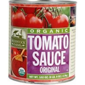 Woodstock Farms Tomato Sauce ( 6X102 Oz)