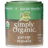 Simply Organic, Garam Masala, 0.53-Ounce (Pack of 6)