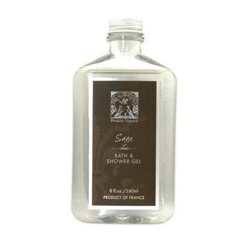 Pre de Provence Bath and Shower Gel, Sage, 8 ounces Bottle