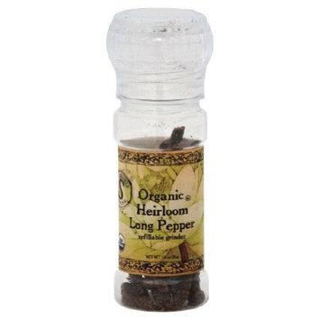 Himala Salt HimalaSalt Organic Heirloom Long Pepper, 1.8-Ounce Grinders (Pack of 3)