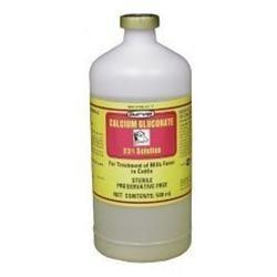 Durvet Fluids Calcium Gluconate 23percent Red 500 Milliliter - 01 1110246