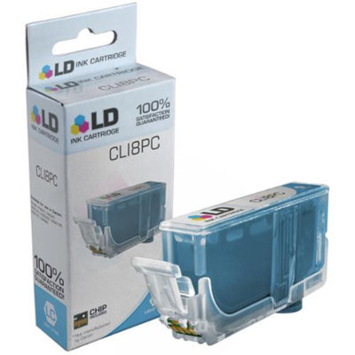 LD Compatible Replacement for Canon CLI8PC Ink Cartridge Includes: 1 Photo Cyan 0624B002 for use in Canon PIXMA iP4200, iP4300, iP4500, iP5200, iP5200R, MP500, MP530, MP600, MP610, MP800 & More
