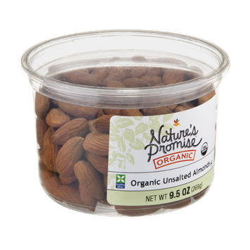 Nature's Promise Organic Almonds Unsalted Organic