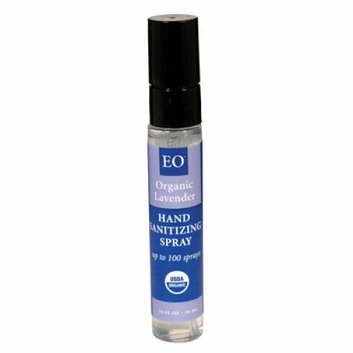 EO Products Hand Sanitizer Organic Lavender 0.33 fl oz Case of 12