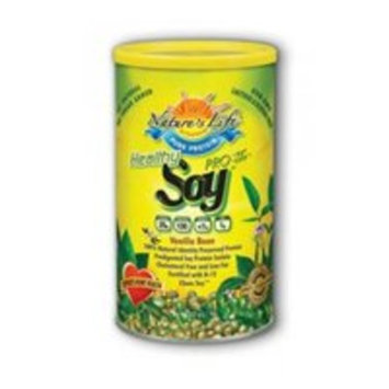 Healthy Soy Protein (Pro-95 & Pro Life Soy Replacement)-Vanilla Bean Nature's Life 1.1 lbs Powder