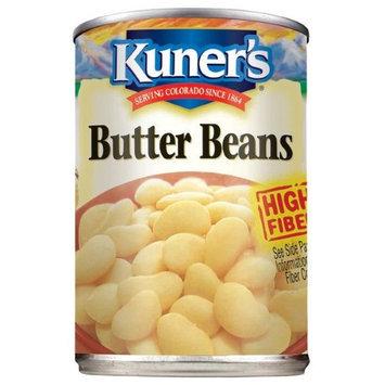 Kuner's Kuners Butter Beans, 15 oz, - Pack of 12