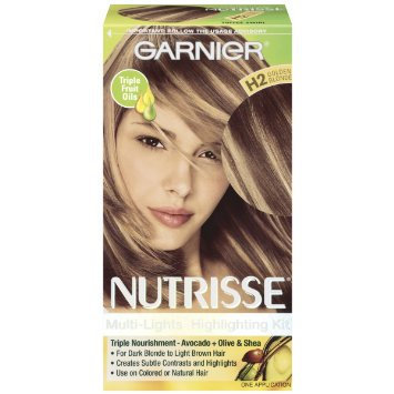 Garnier Nutrisse Nourishing Multi-Lights Highlighting Kit Golden Blonde H2 Toffee Swirl
