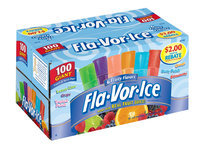 Fla-Vor-Ice Fruity Flavors Ice Pops