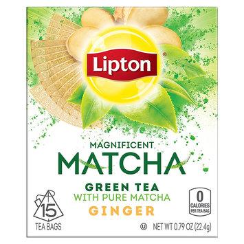 Lipton Matcha Green Tea and Ginger