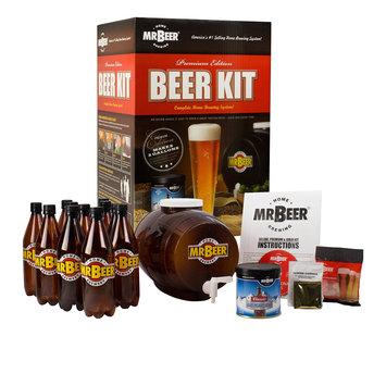 Mr. Beer Premium Edition Home Brewing Craft Beer Kit
