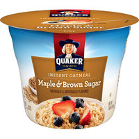 Quaker® Instant Oatmeal Cups Maple & Brown Sugar