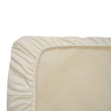 Naturepedic Organic Cotton Flannel Fitted Crib Sheet