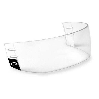 Oakley VR 904 Pro Straight Hockey Helmet Visor Without Vents - Small [Clear, Small]