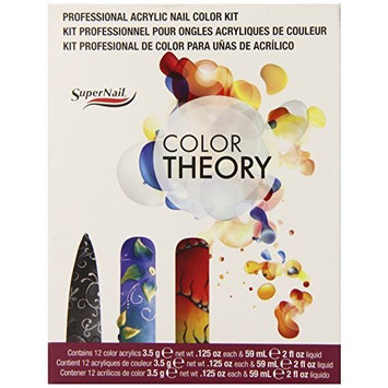 SuperNail Acrylic Color Theory Nail Kit