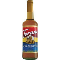 Torani English Toffee 750 mL (pack of three)