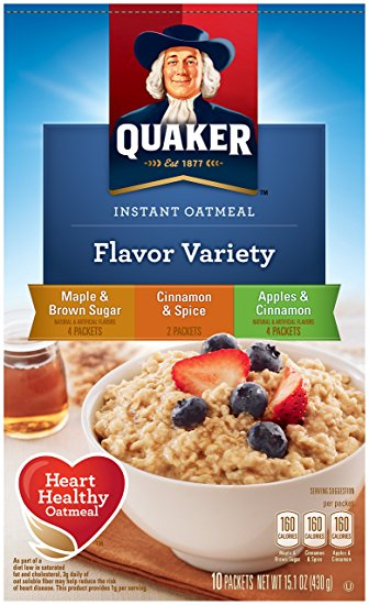 Quaker® Instant Grits Flavor Variety Pack