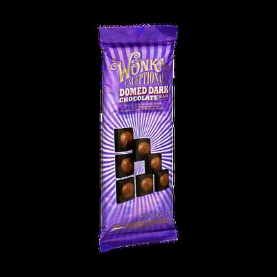 Wonka Exceptionals Domed Dark Chocolate Candy Bar