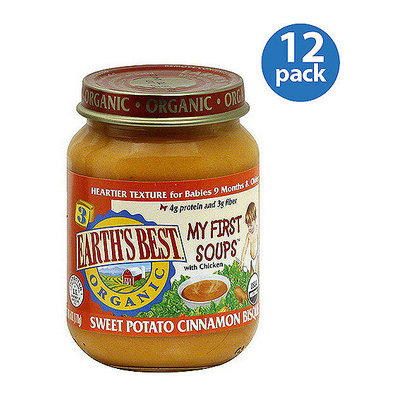 Earth's Best Stage 3 Sweet Potato Cinnamon Bisque Baby Food