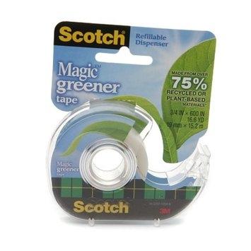 Scotch Magic Greener Tape 3/4 in x 600 in