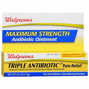 Walgreens Triple Antibiotic Ointment Plus