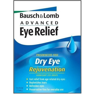 Bausch & Lomb Advanced Eye Relief Rejuvenation Preservative Free Lubricant Eye Drops, 32 Single-Use Dispensers (Pack of 3)