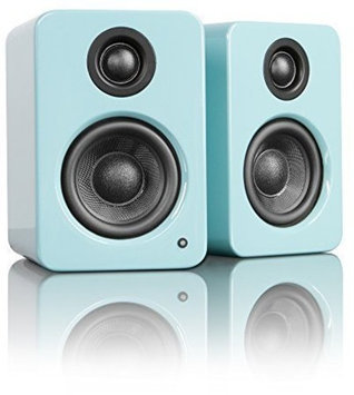 Kanto Distribution Kanto YU2GT YU2 Premium Desktop Speakers - Gloss Teal