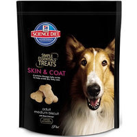 Hill's Science Diet  Hill's Science Diet Simple Essentials Adult Skin & Coat Medium Biscuit Treats with Real Chicken - 28.2-Ounce Bag (Pack of 8)