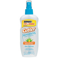 Cutter Skinsations Insect Repellant Spray, 7.5 fl oz