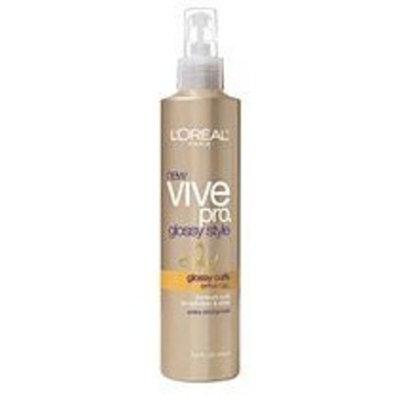 L'Oréal Paris Vive Pro Glossy Style Glossy Curls Spray Gel, 8.5 Ounce