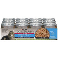 Pro Plan Seafood Stew Entr e Wet Cat Food in Sauce (3-oz, case of 24)