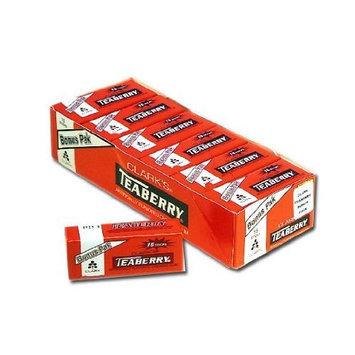Clark Gum Teaberry Gum (Pack of 12)