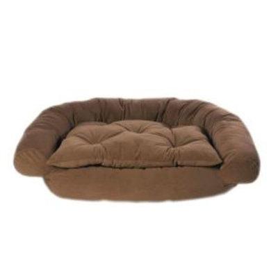 Hayneedle Habitats Small Chocolate Microfiber Comfort Couch Bed