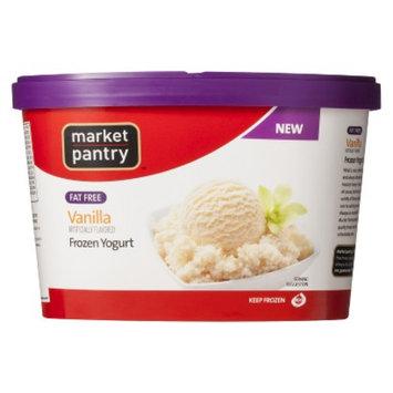 market pantry Market Pantry Fat Free Vanilla Frozen Yogurt 1.5-qt.