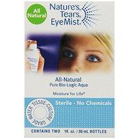 Bio-logic Aqua Nature's Tears Eyemist 1 0z. bottles-2 pack