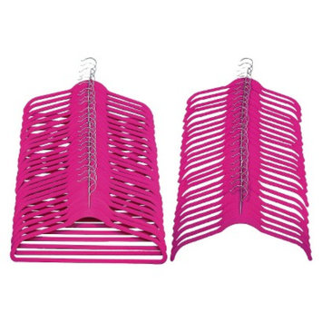 Joy Mangano Huggable Hangers 48-Pc. Combo Pack - Pink