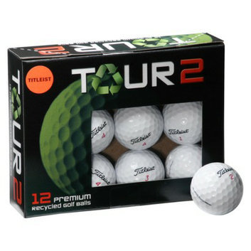 Titleist DT Carry Recycled 12 Pk Golf Balls-White
