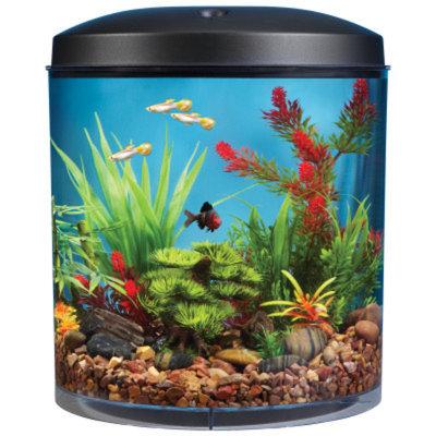 Top Fin AquaScene 180 3.5 Gallon Aquarium