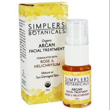 Simplers Botanicals Argan Facial Treatment - Rose & Helichrysum