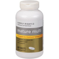 Members Mark Member's Mark Mature Multi Vitamin for Adults, Tablets (Compare To Centrum), 400-Count