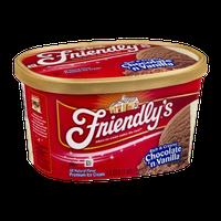Friendly's Rich & Creamy Chocolate 'n Vanilla Premium Ice Cream