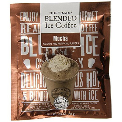 Big Train Blended Ice Coffee, Mocha, 2.8-Ounce Bags (Pack of 25)
