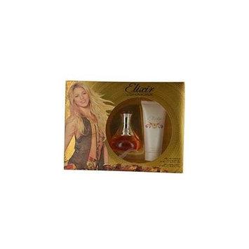 Shakira Elixir By Shakira Set-Edt Spray 2.7 Oz & Silky Body Lotion 3.4 Oz