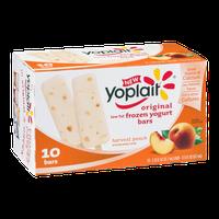 Yoplait Original Harvest Peach Low Fat Frozen Yogurt Bars - 10 CT