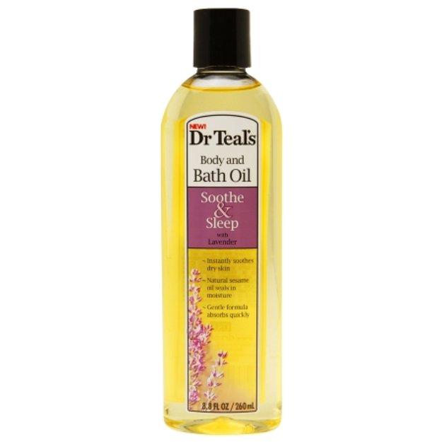 Dr. Teal's Body & Bath Oil, Lavender, 8.8 fl oz