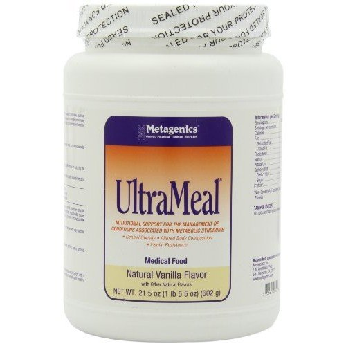 Metagenics Ultra Meal Supplement, Vanilla, 21.5 Ounce