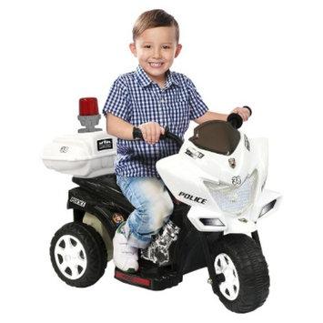 National Products LTD. Kid Motorz Lil Patrol 6V Ride On - Black/ White