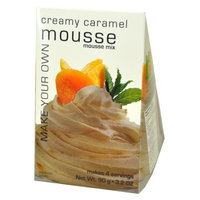 Foxy Gourmet Creamy Caramel Mousse Mix, 3.2-Ounce Boxes (Pack of 3)