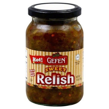 Gefen Sweet and Hot Relish, 13-ounces (Pack of 6)