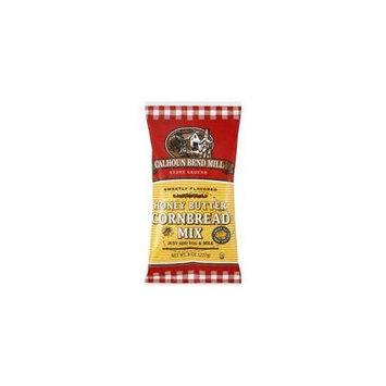 Calhoun Bend Mill Honey Butter Cornbread Mix, 8 oz, - Pack of 6